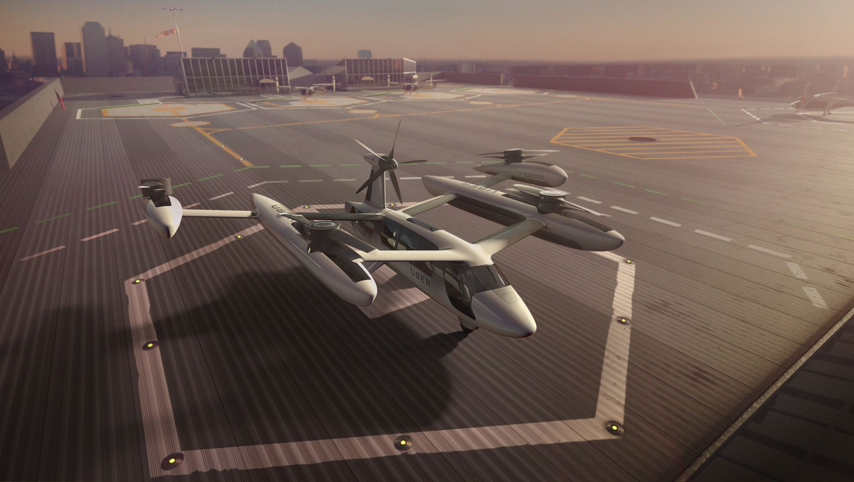 Uber flying taxis get a boost from Army, NASA