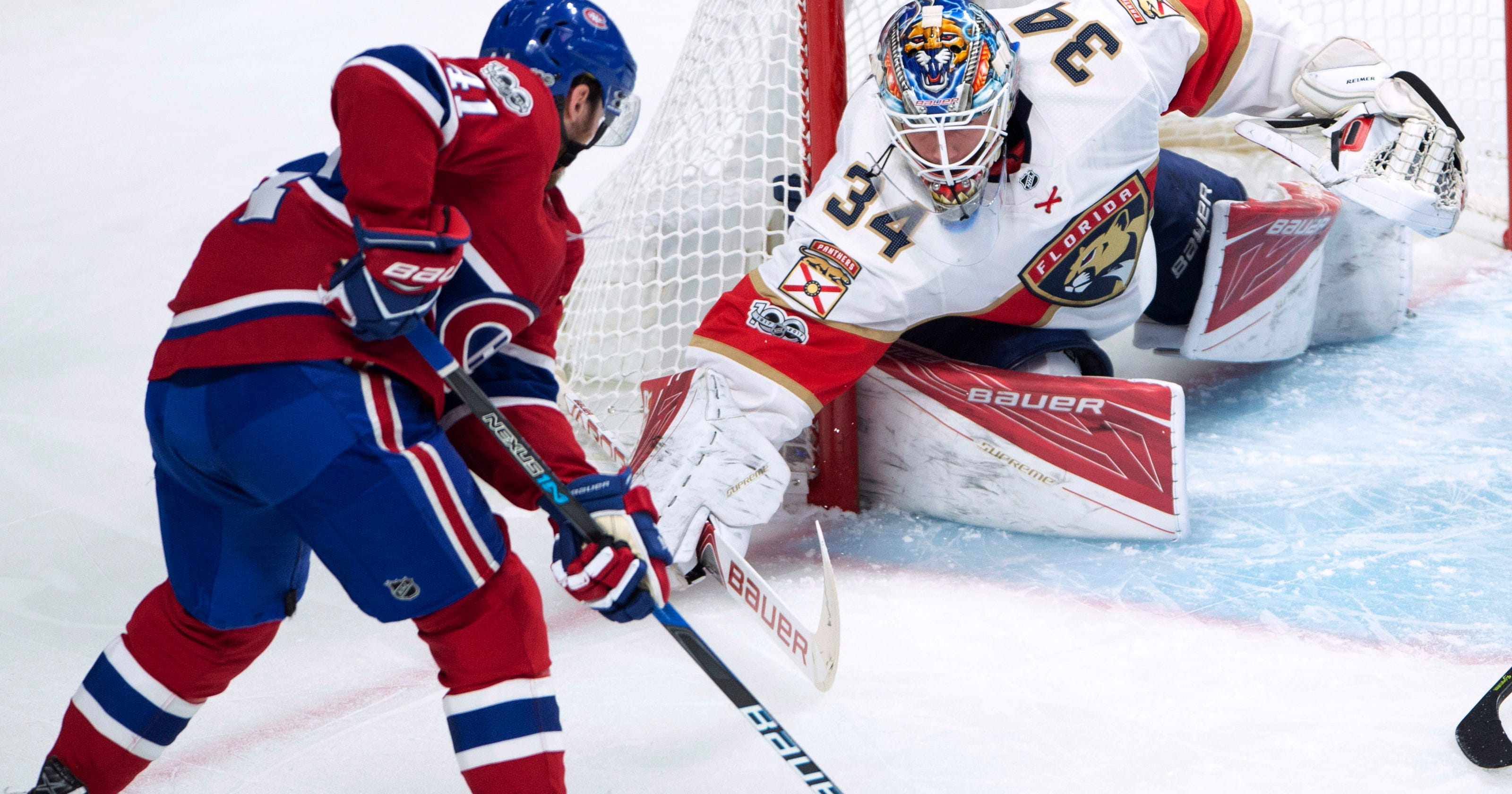 ffea8ac26b0 Weber scores two  Canadiens snap skid