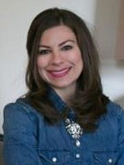 Interior designer Rachel Clark of Pittsford designed a new window treatment that she hopes she can patent.