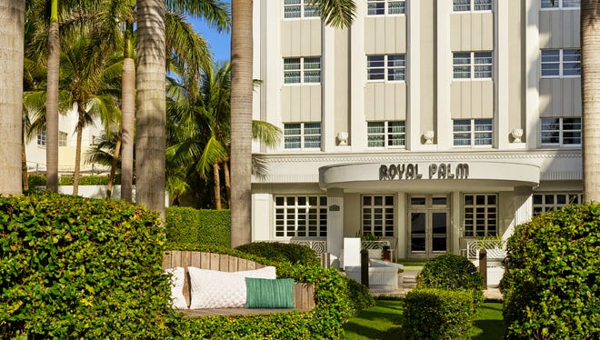 The Royal Palm South Beach Miami is the first Starwood Tribute Portfolio hotel.