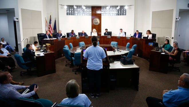 Citizens of Leon County packed the Board of County Commissions meeting on Tuesday, arguing for or against the Children's Services Council referendum.