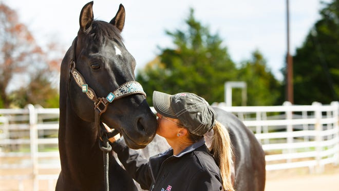 Purina Ambassador Michele McLeod has been ranked among the top five barrel racers in the world since 2013.