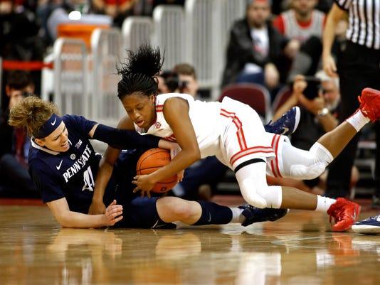 NCAA Womens Basketball: Penn State at Ohio State