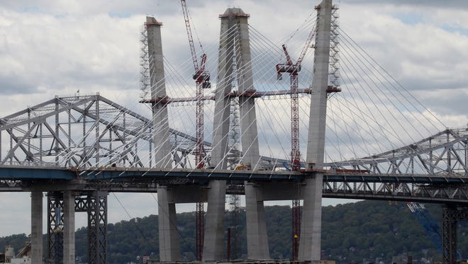 Check out the current Tappan Zee Bridge construction while aboard the River Rose, a Mississippi-style paddle-wheeler.