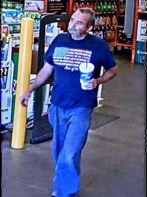 Surprise police are asking for help identifying a thief who stole thousands of dollars worth of products from a Home Depot store.