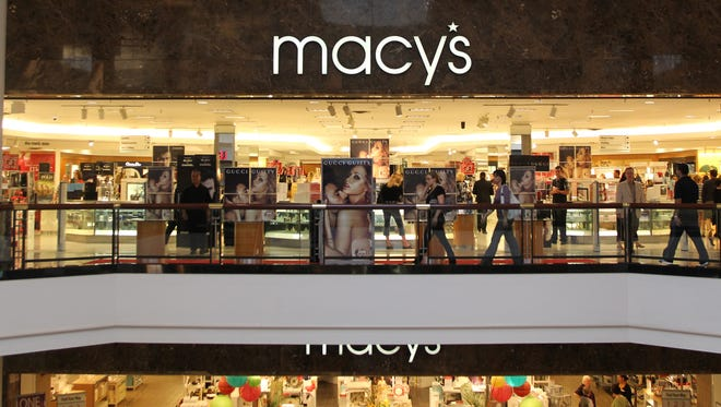 A general view of Macy's  in King of Prussia, Pennsylvania.
