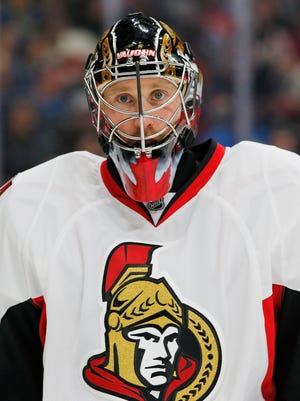 Ottawa Senators goaltender Craig Anderson has posted back-to-back shutouts.