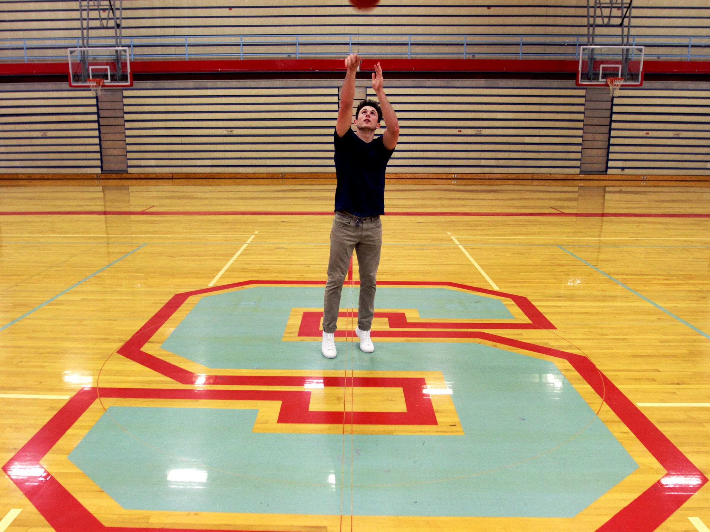 South Salem point guard Connor Fohn was a varsity contributor on the basketball court since his sophomore year of high school.