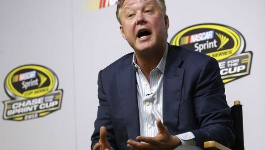 """NASCAR Chairman Brian France announced a plan to """"promote a more predictable, sustainable and valuable team business model."""""""