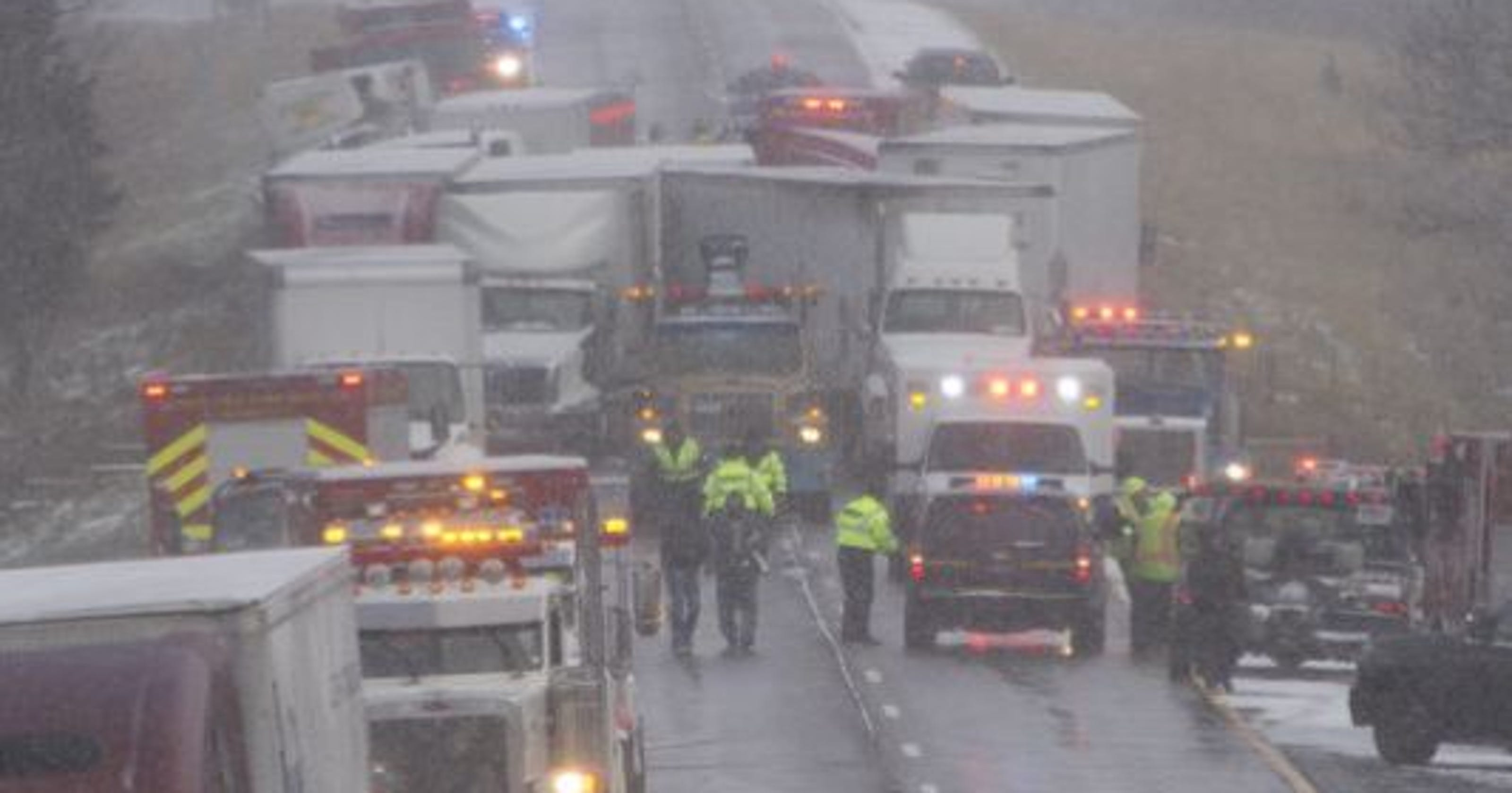 Police: Speedster cause of 53-vehicle fatal I-96 pileup