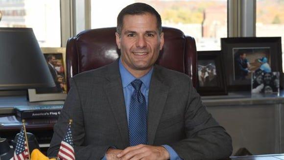 Dutchess County executive Marcus Molinaro