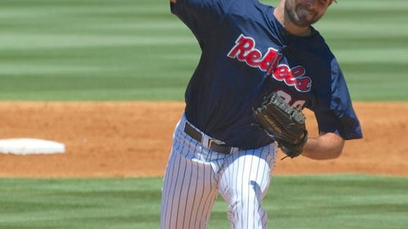 Sam Smith will start Thursday for Ole Miss in an elimination game against TCU.