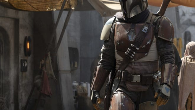 The bounty hunter who is the title character of 'The Mandalorian' has his hands full in Episode 2 of the Disney+ streaming series.