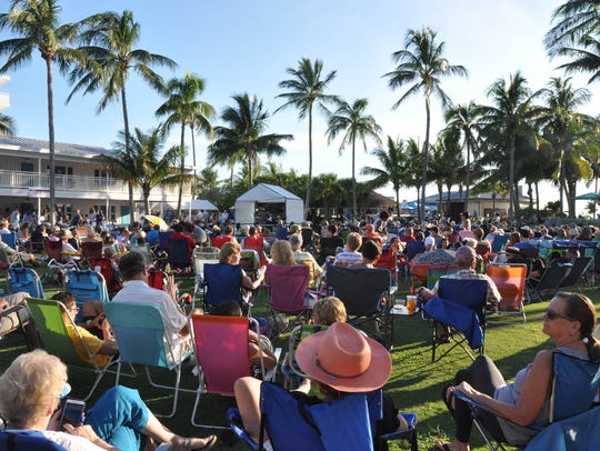 The annual Summer Jazz on the Gulf series, at Naples