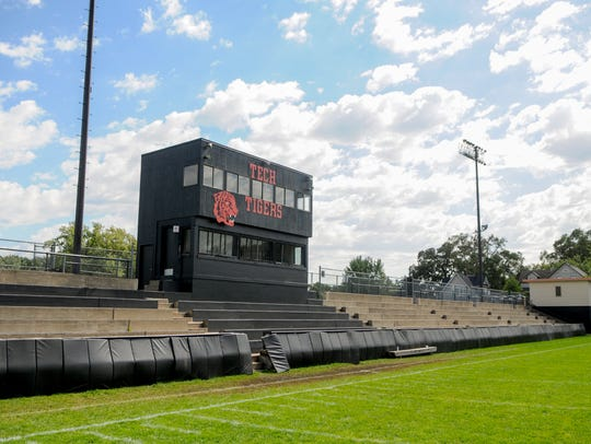Clark Field at Technical High School shown Saturday,