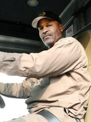 New Castle UPS driver Eric Dowling was one of five