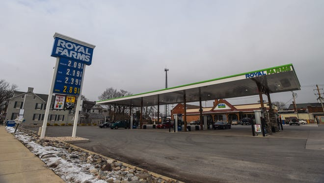 Royal Farms, seen here in Hanover, opened its newest location in Delta.