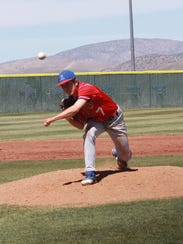 Reno senior Christian Chamberlain got the win against