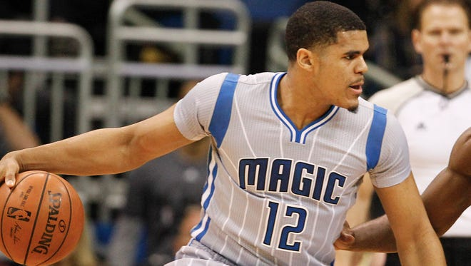 Tobias Harris is averaging 13.7 points and seven rebounds this season.