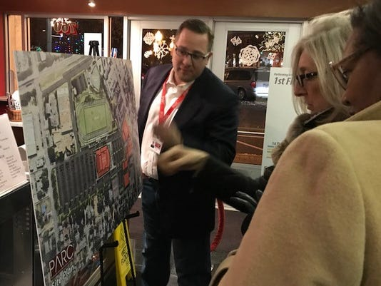 Theater Arts Complex Project Stirs Public Support