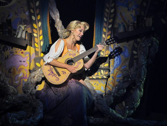 DISNEY MAGIC PRESENT TANGLED THE MUSICAL