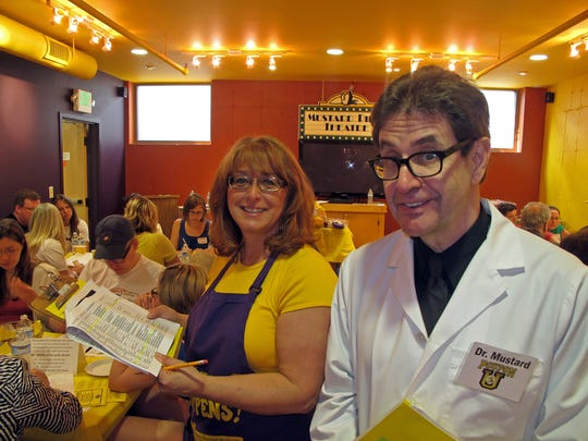 National Mustard Day, Aug. 2, gives Patti and Barry Levenson an extra reason to celebrate at their National Mustard Museum, Middleton.