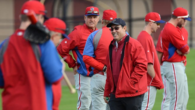 Phillies general manager Rube?n Amaro is comfortable casting his lot with older players.