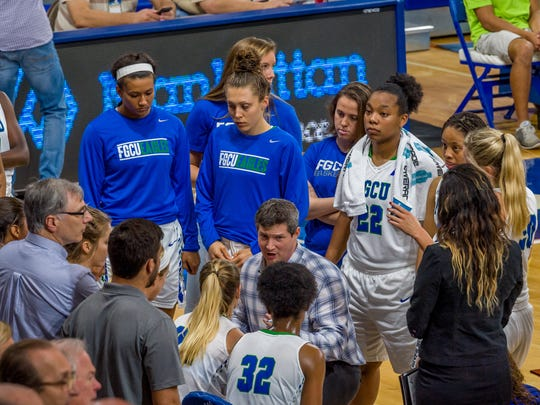 FGCU program-building coach Karl Smesko's young team opens ASUN play at Stetson at 1 p.m. Saturday. FGCU has won six straight ASUN regular-season titles but is not the usual big favorite this season.