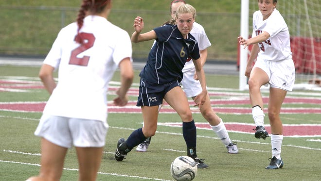 Roberson senior Mary Laci Motley (6) has committed to play college soccer for Kentucky.