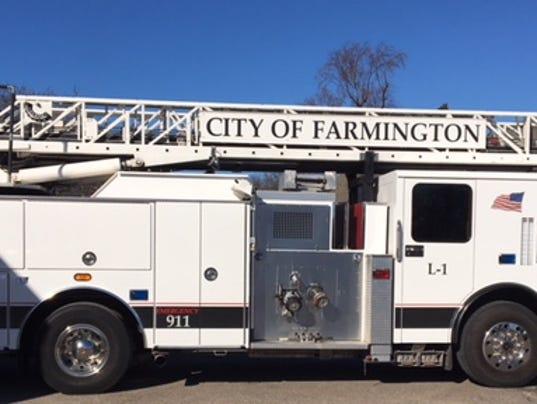 FRM new fire truck