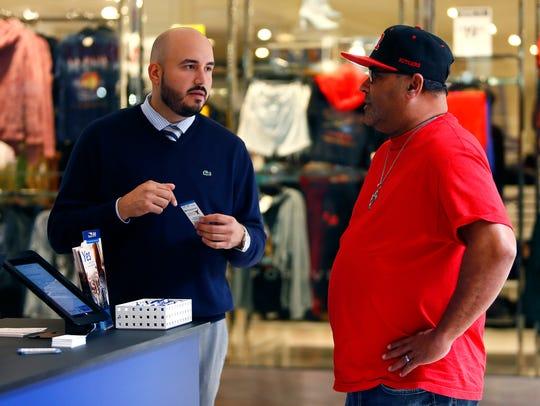Jose Pereira Jr, Supervisor, Blue to You Program talks