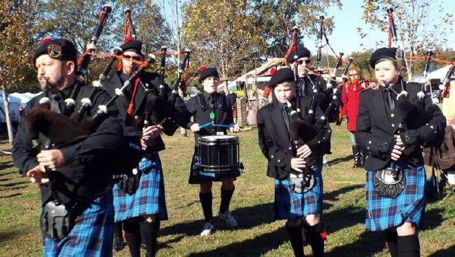 The two-day CelticFest, sponsored by the Celtic Society of West Tennessee, includes reenactments and entertainment by groups such as the Northeast Arkansas Caledonian Pipes and Drums.