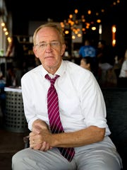 John Sobin, 65, a clinical psychologist living in South Tampa, is currently an independent voter who will definitely be voting for Democratic candidate Hillary Clinton in this year's presidential election.