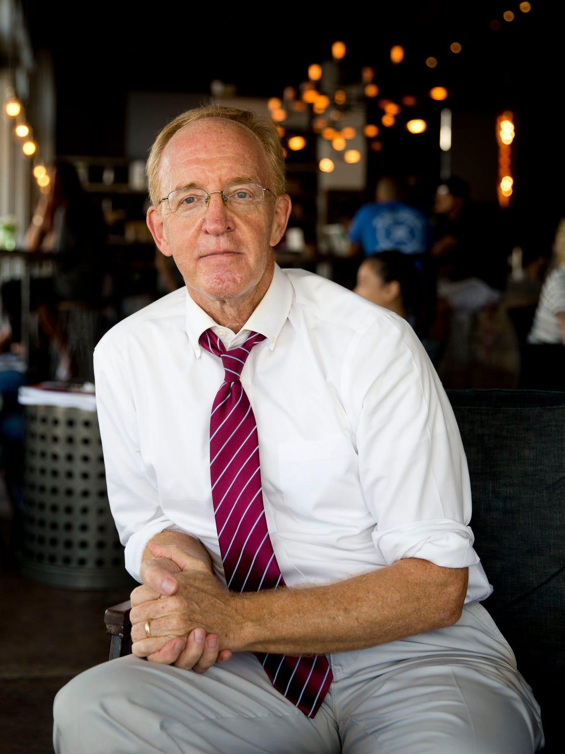 Jonathan Sobin, 65, a clinical psychologist living