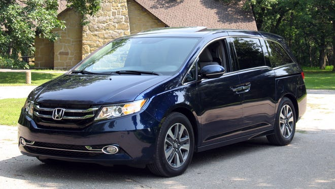 More Value & Enhanced Safety: 2014 Honda Odyssey minivan