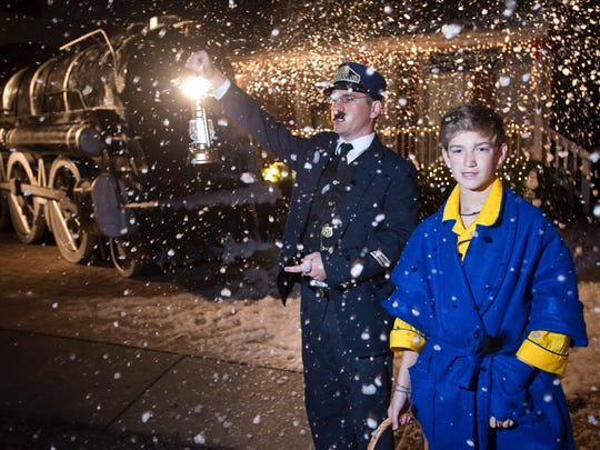 All aboard the Polar Express! Tours start departing on Wednesday.