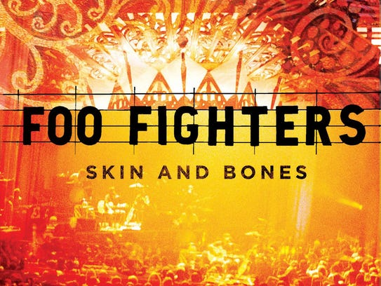 The album cover to the Foo Fighters' live acoustic