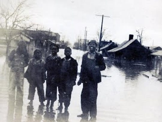 Prone to flooding, The Bottoms was one of three historic