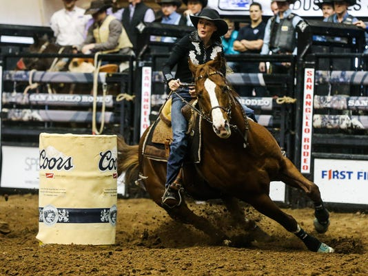 The 85th annual San Angelo Stock Show & Rodeo: 2nd performance