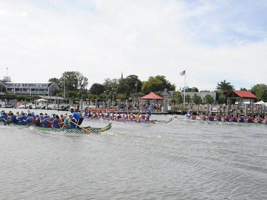 The 3rd annual Lewes Dragon Boat Festival will take place Sunday, Sept. 13.