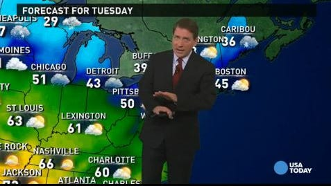 What's the weather where you are? Get the details in today's forecast.