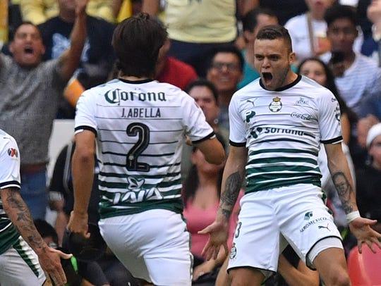 Santos eliminó al América en las semifinales del futbol