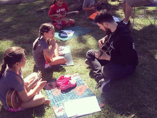 Learning to play the ukulele with Architekt Music June