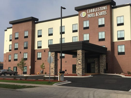 Cobblestone Hotel & Suites along with its restaurant,