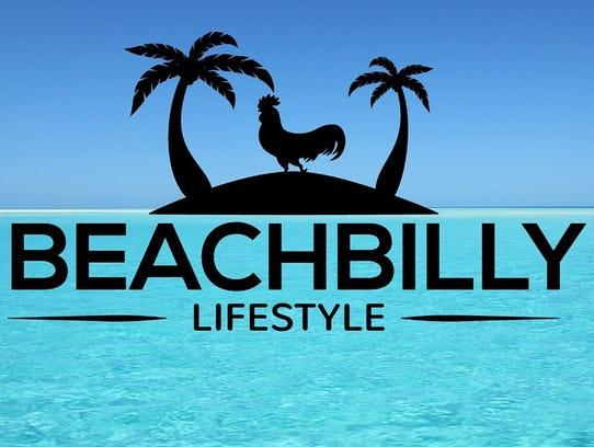 """The Beachbilly Lifestyle Show"" logo."