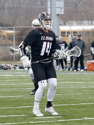 Connor Sullivan was the top scorer this season for the Elmira boys lacrosse team.