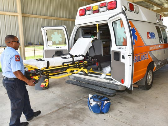 American Medical Response ambulance service is the only ambulance authorized to operate in Hinds County.