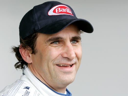 Alex Zanardi, born Oct. 23, 1966, in Bologna, Italy, began his racing career as a Formula One driver in 1991. He also drove on the CART series, winning two CART Championship titles. After a horrific crash on Sept. 15, 2001, Zanardi lost both legs. In 2007, Zanardi began a career in handcycling.