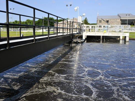 The city of Foley sought $10 million in state bonding to help it cover $22 million worth of wastewater upgrades, including connecting Foley to St. Cloud's sewage treatment system. Shown here is the St. Cloud wastewater treatment plant.