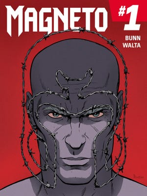 """The master of magnetism is on a quest to eliminate threats to mutantkind in the new series """"Magneto,"""" debuting in March."""